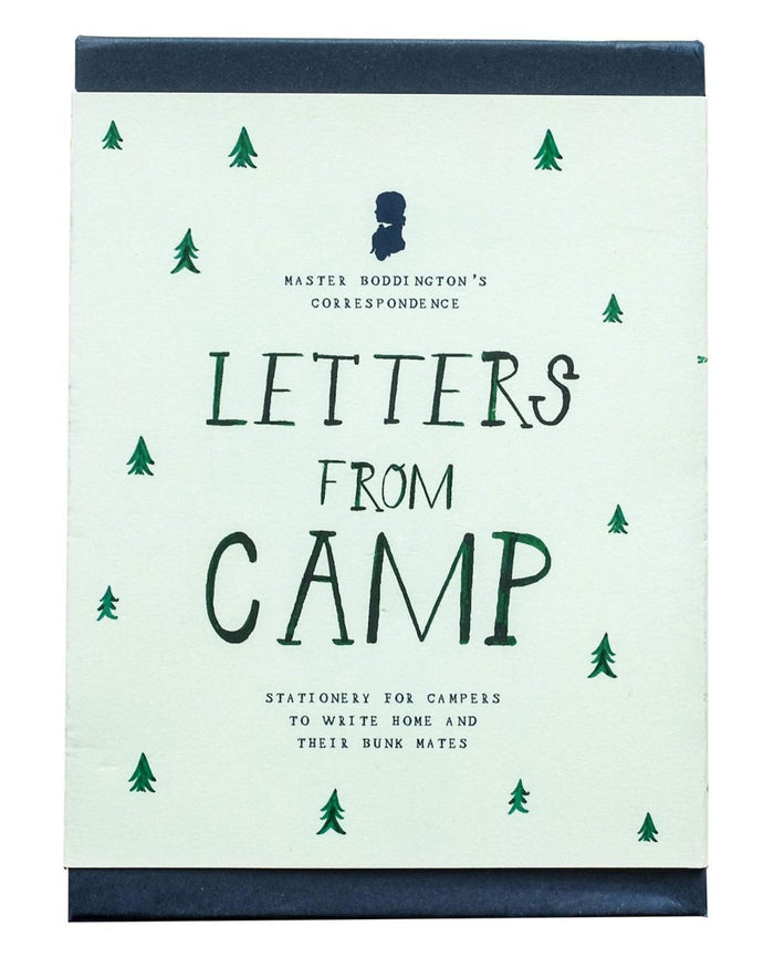Little mr. boddington's studio paper+party letters from camp correspondence box