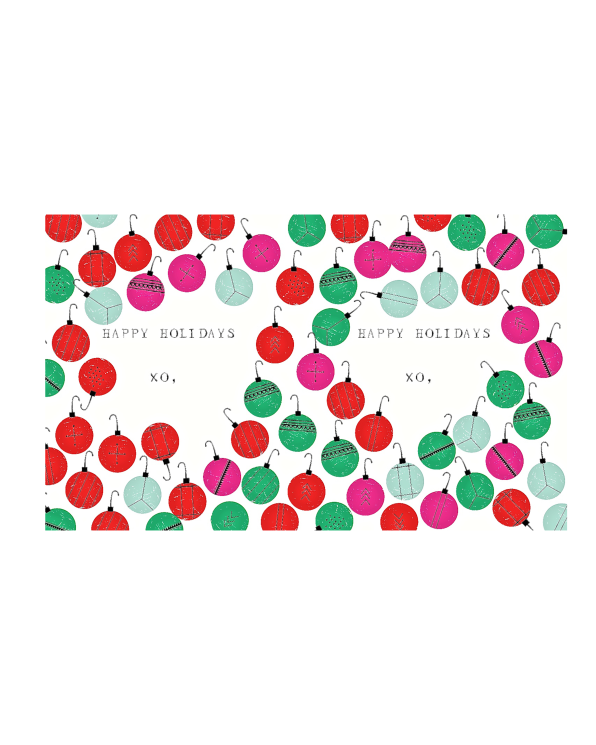 Little mr. boddington's studio paper+party Ornament Overload Gift Labels