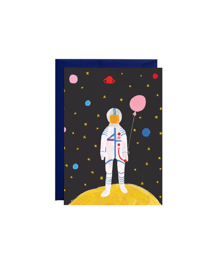 Little mr. boddington's studio paper+party out of this world petite card