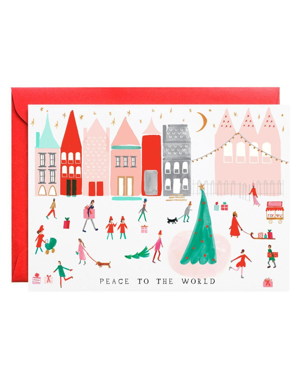 Little mr. boddington's studio paper+party peace to the world card set