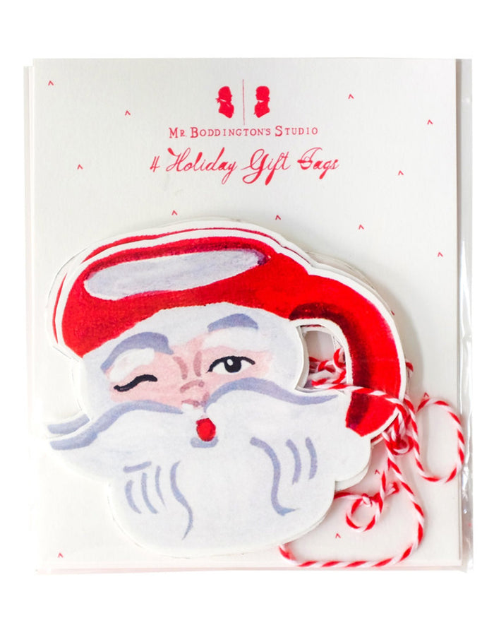 Little mr. boddington's studio paper+party santa mug gift tags
