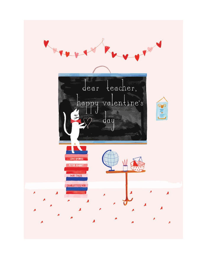 Little mr. boddington's studio paper+party teacher's pet card