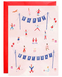Little mr. boddington's studio paper+party tiny town party card