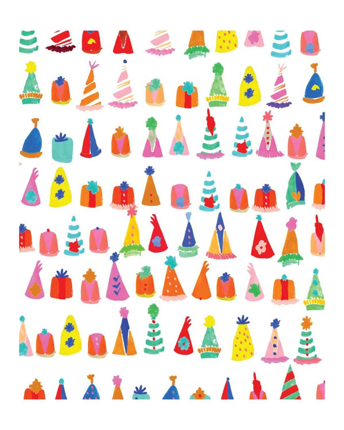 Little mr. boddington's studio paper+party Where's My Party Hat Wrapping Paper