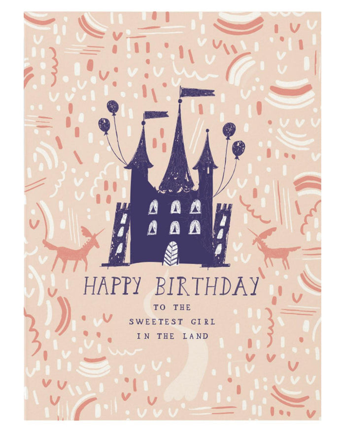 Little mr. boddington's studio paper+party which way to the castle card