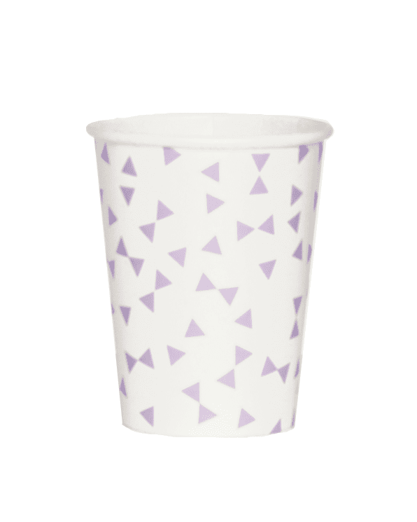 Little my little day paper+party Lilac Bow Paper Cups
