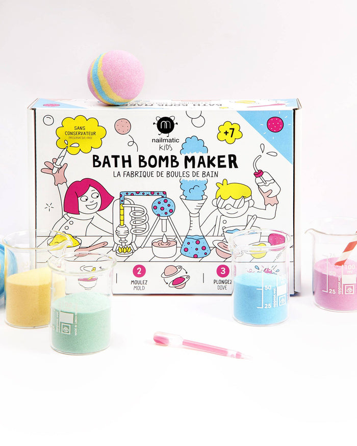 Little nailmatic room bath bomb maker