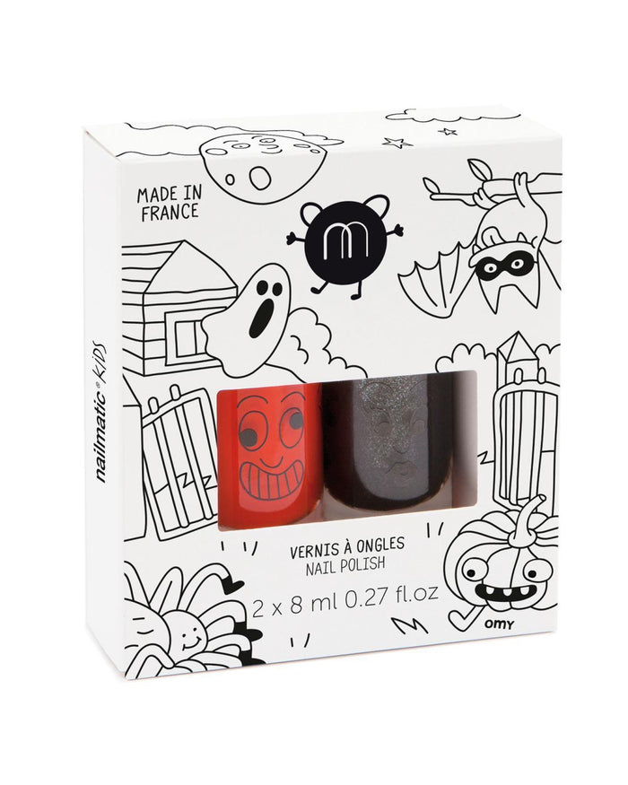 Little nailmatic accessories halloween set