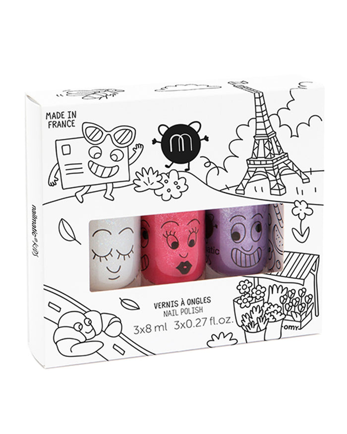 Little nailmatic accessories nail polish set in city
