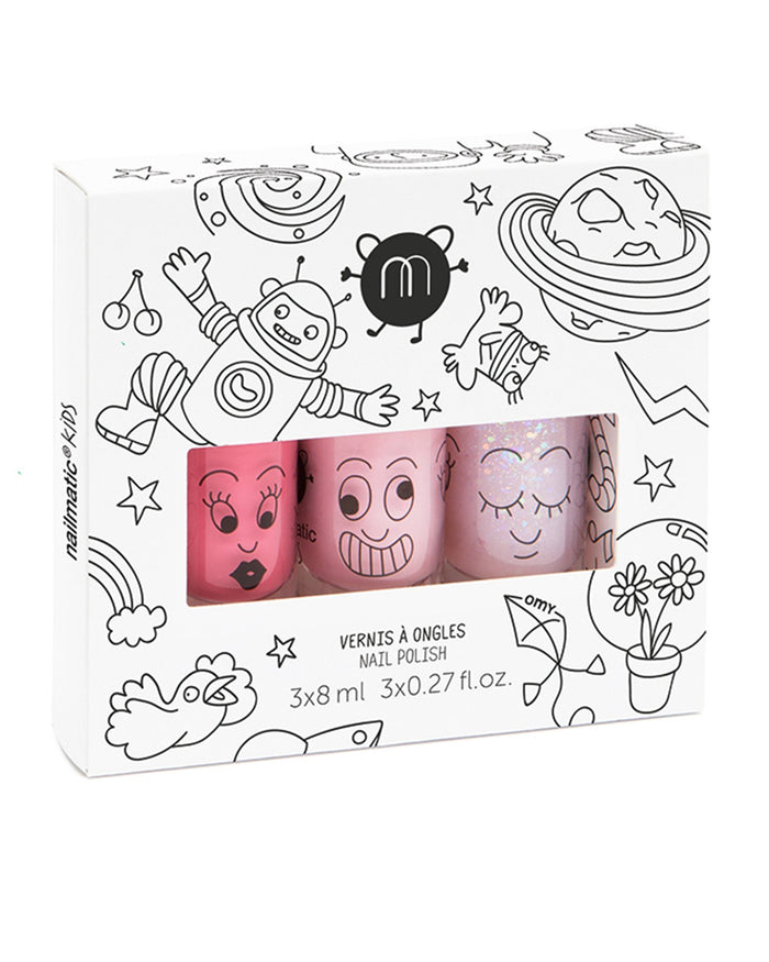 Little nailmatic accessories nail polish set in cosmos