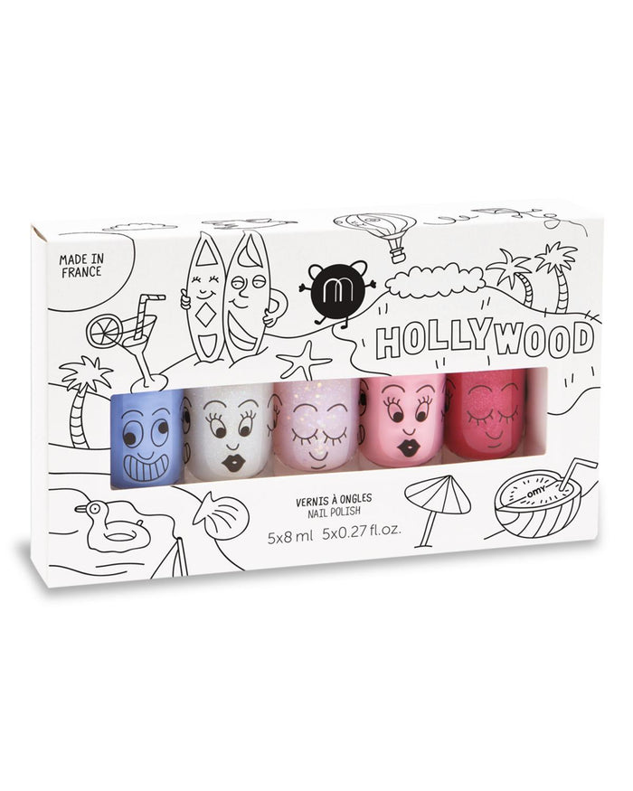 Little nailmatic accessories Nail Polish Set in Hollywood