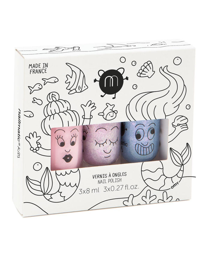 Little nailmatic accessories nail polish set in mermaid