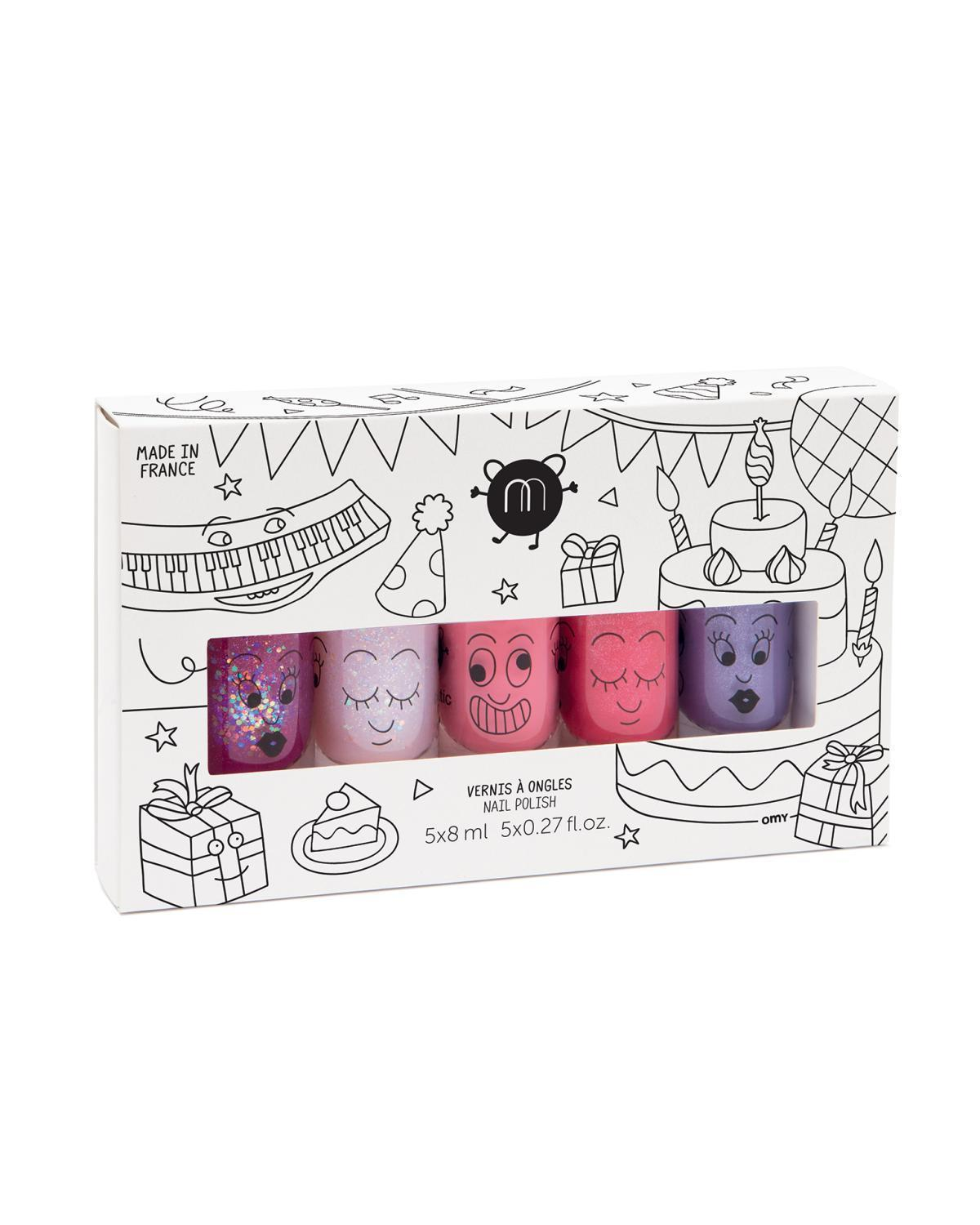Little nailmatic accessories Nail Polish Set in Party