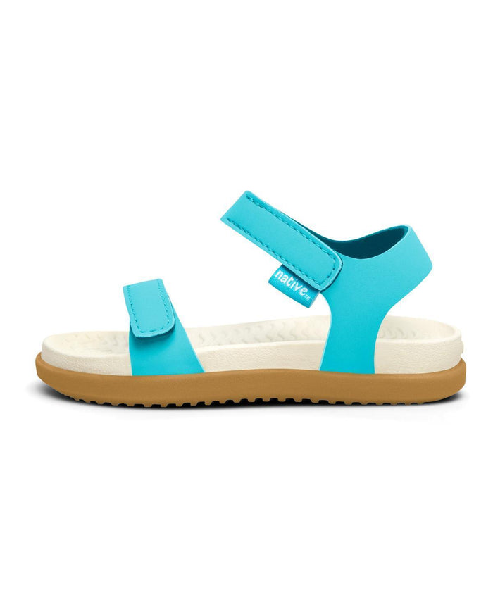 Little native shoes girl c4 charley child in surfer blue