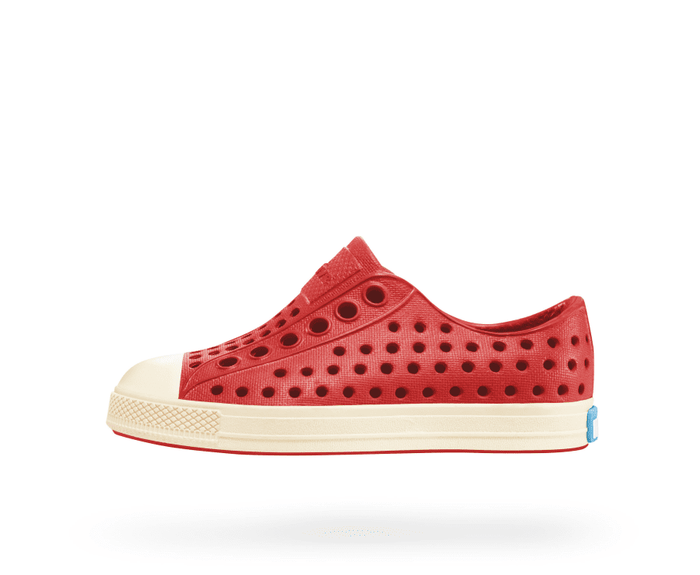 Little native shoes boy c4 Jefferson Child in Torch Red