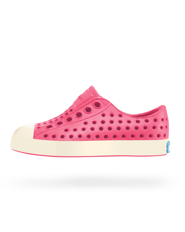 Little native shoes girl j1 Jefferson Junior in Hollywood Pink