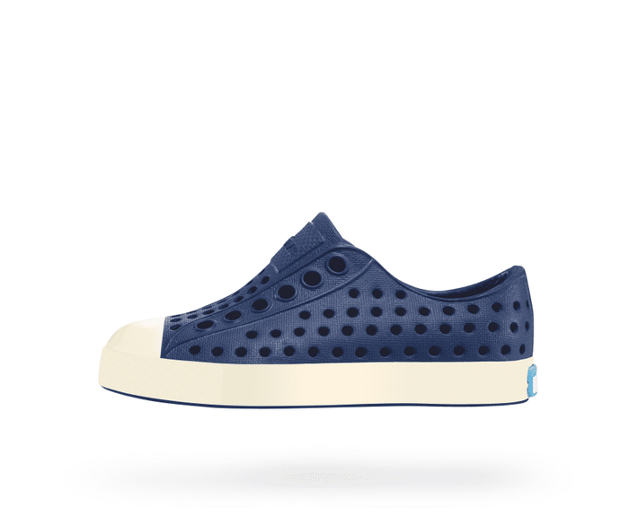 Little native shoes boy j1 Jefferson Junior in Regatta Blue