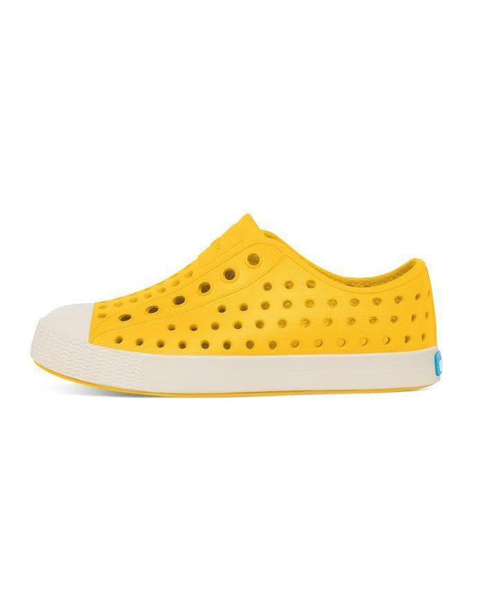 Little natives boy c4 jefferson in crayon yellow + shell white