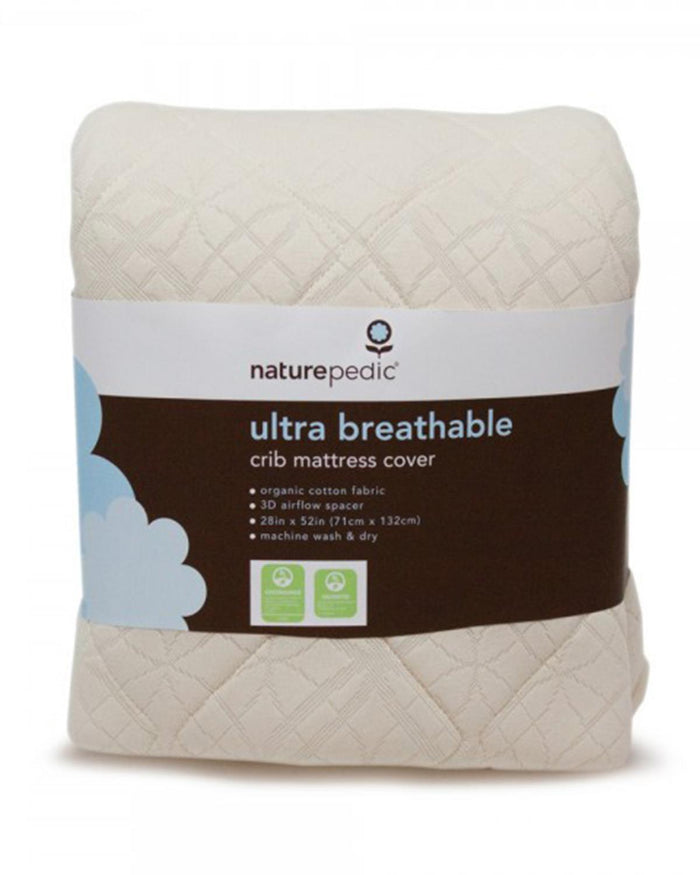 Little naturepedic room organic breathable ultra crib mattress cover