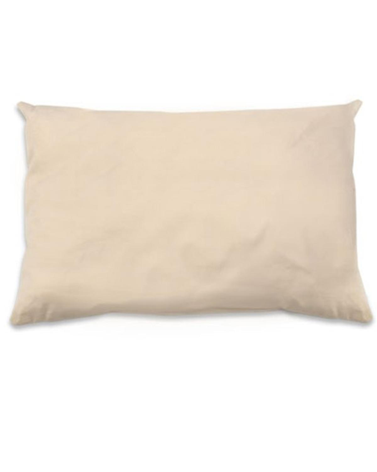 Little naturepedic room PLA Toddler Pillow in Natural