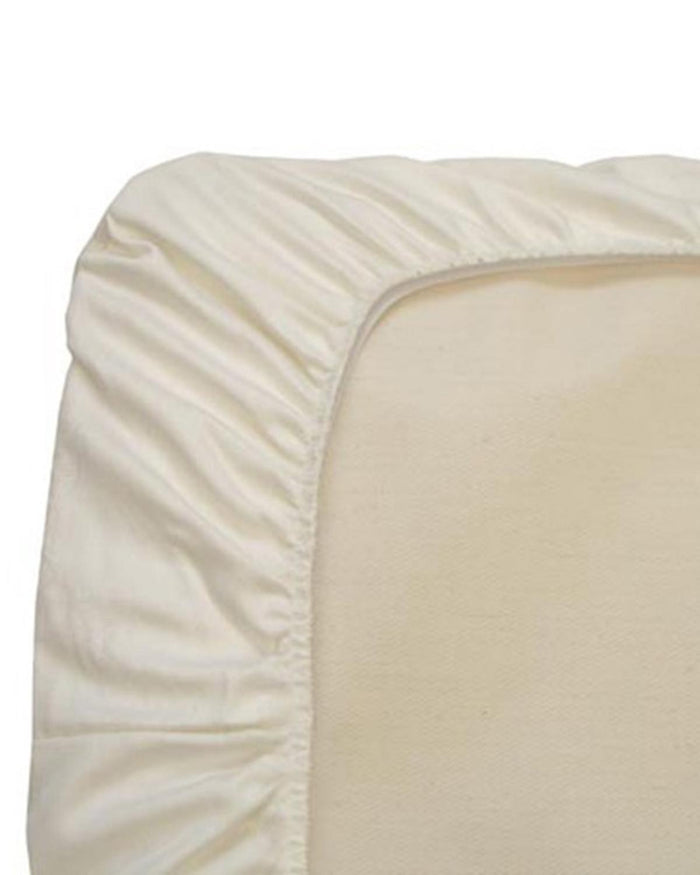 Little naturepedic room waterproof flat crib mattress pad