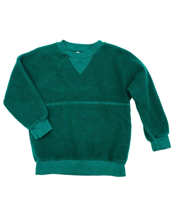 Little nico nico boy 2 casey dolman pullover in forest