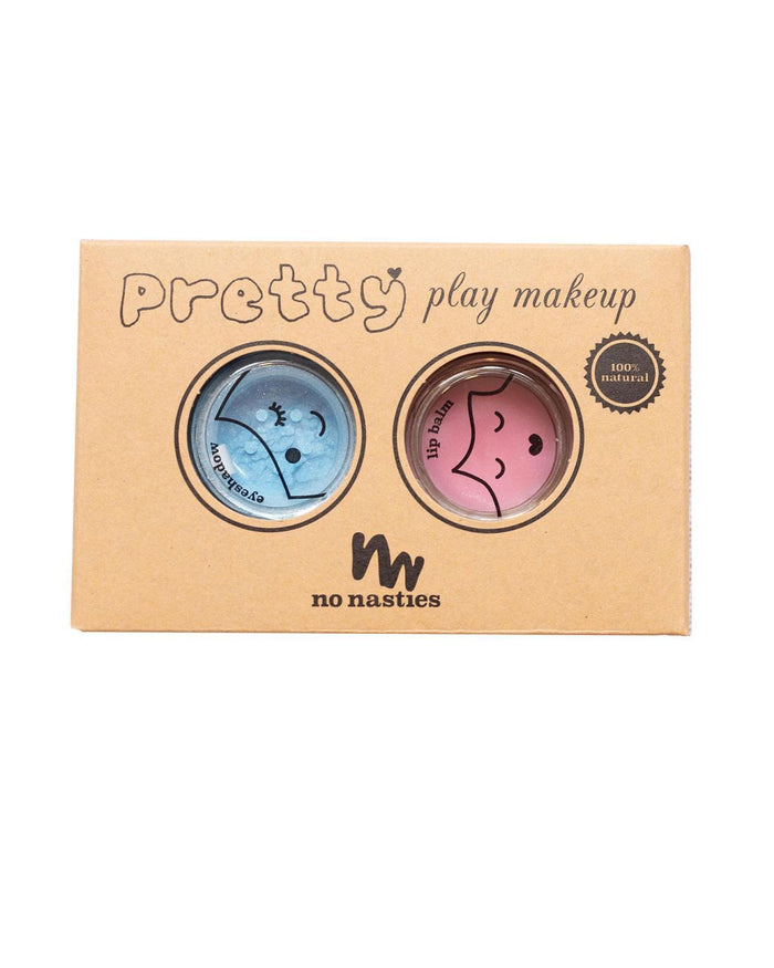 Little no nasties accessories pretty play makeup party pack in blue