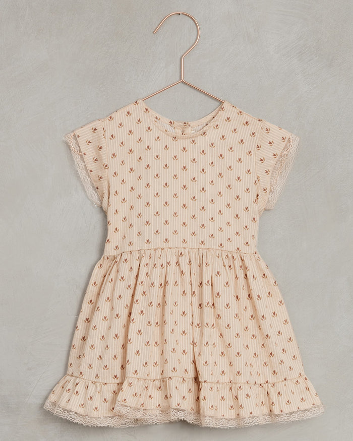 Little noralee girl betty dress in tulip