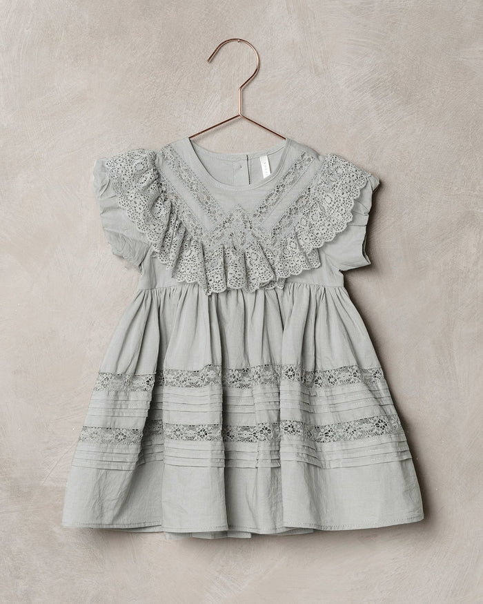 Little noralee girl goldie dress in blue