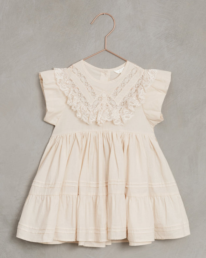 Little noralee girl goldie dress in shell