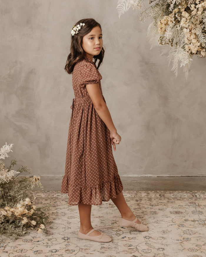 Little noralee girl wendy dress in french flower