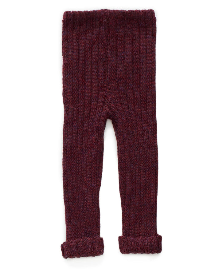 Little oeuf boy everday pants in burgundy