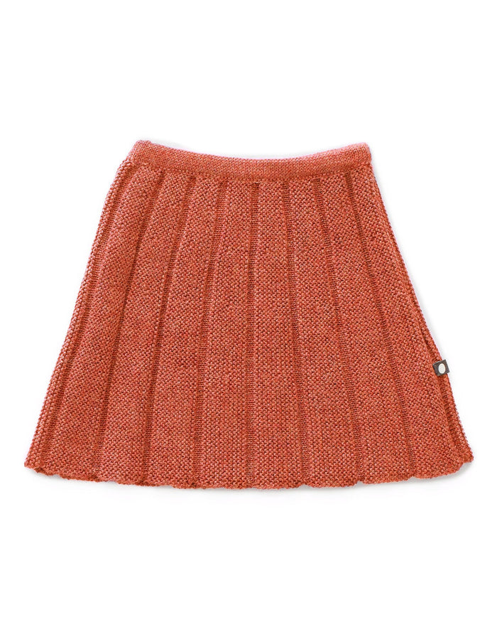 Little oeuf girl everyday skirt in apricot