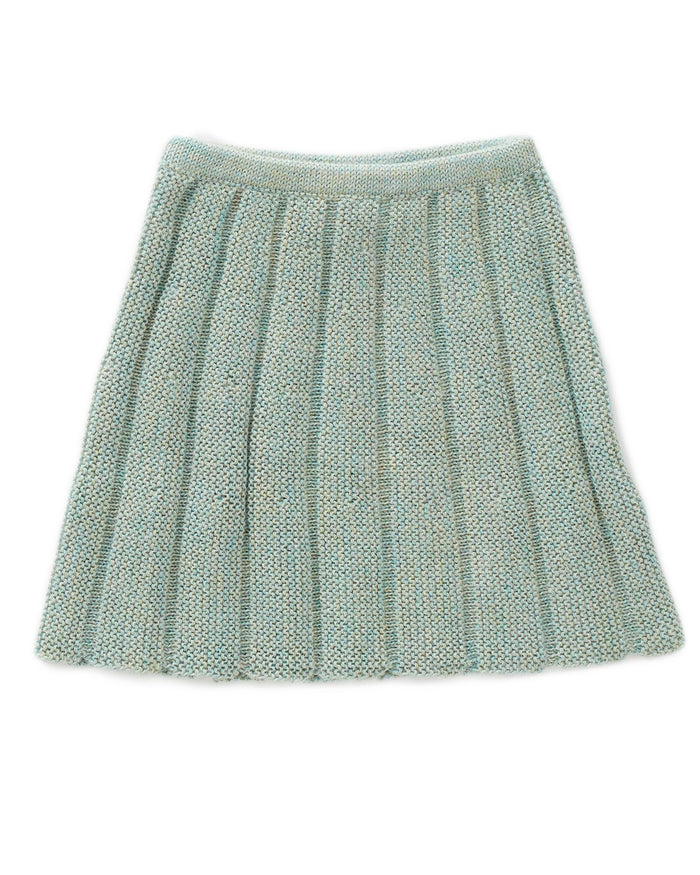 Little oeuf girl everyday skirt in ocean