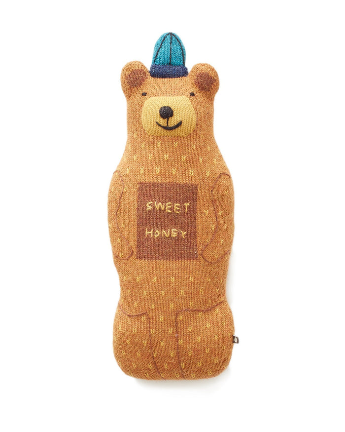 Little oeuf room honey bear in ochre + multi