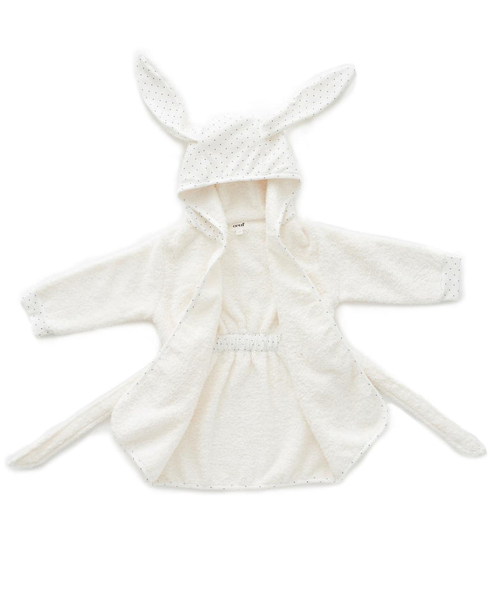 Little oeuf room 12m hooded robe