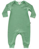 Little oeuf baby girl long sleeve jumper in green checks