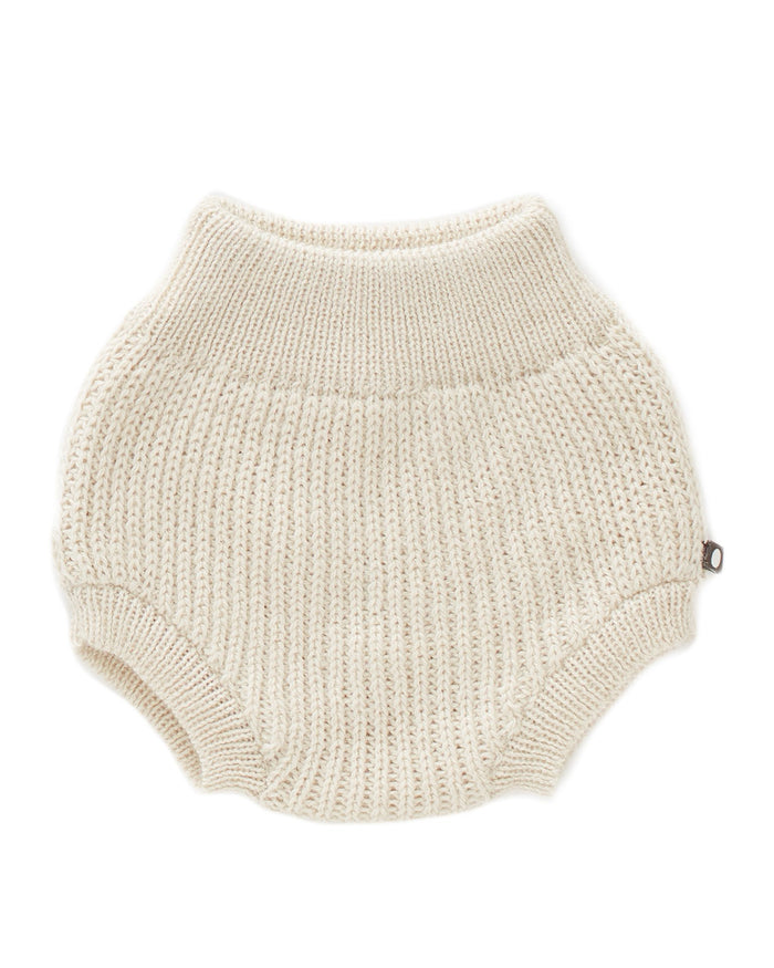 Little oeuf baby girl ski bloomers in white