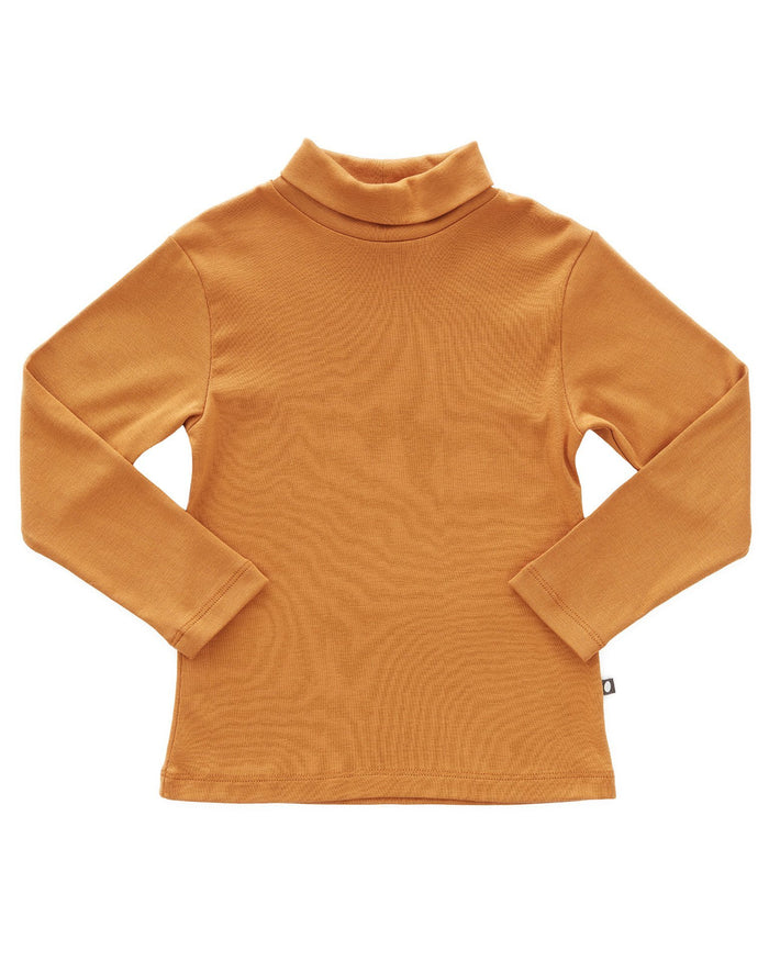 Little oeuf girl turtleneck in ochre
