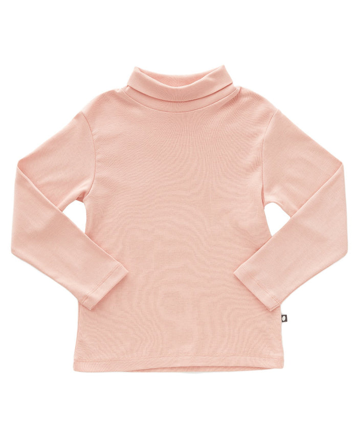 Little oeuf girl turtleneck in pink