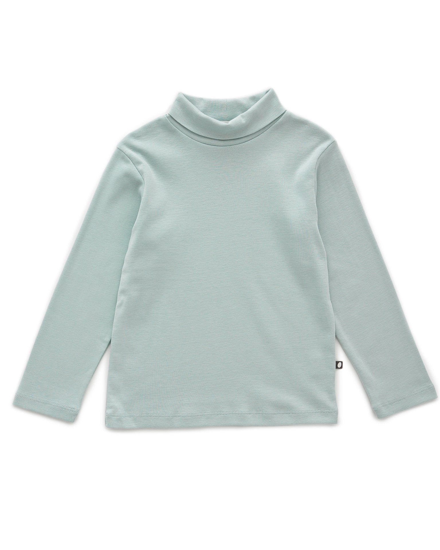 Little oeuf girl turtleneck in sky grey