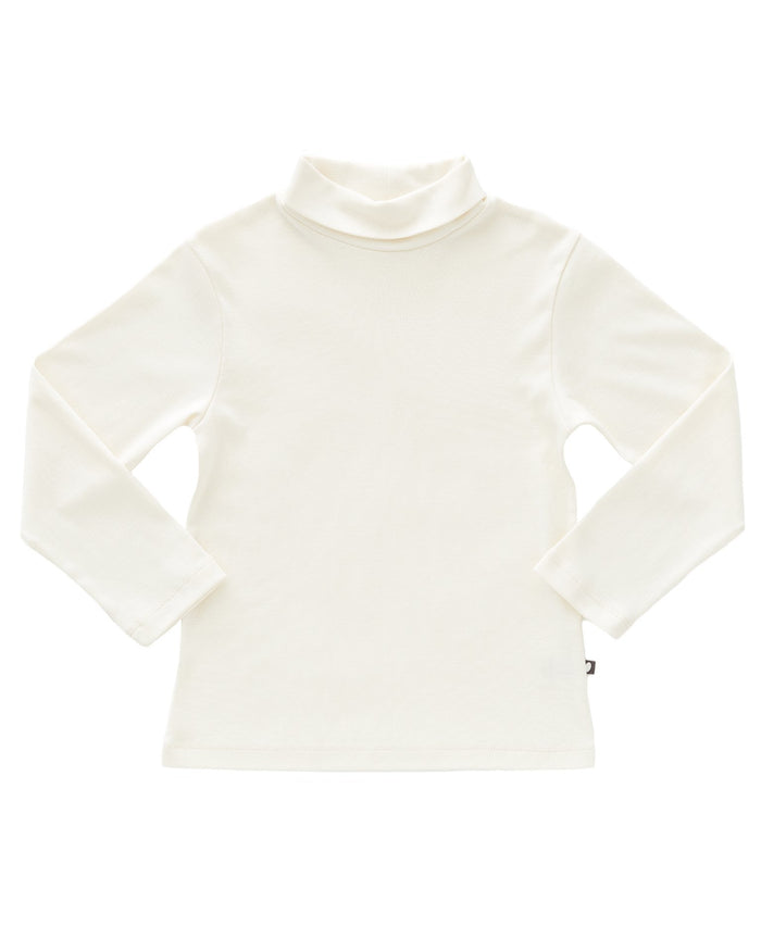 Little oeuf girl turtleneck in white