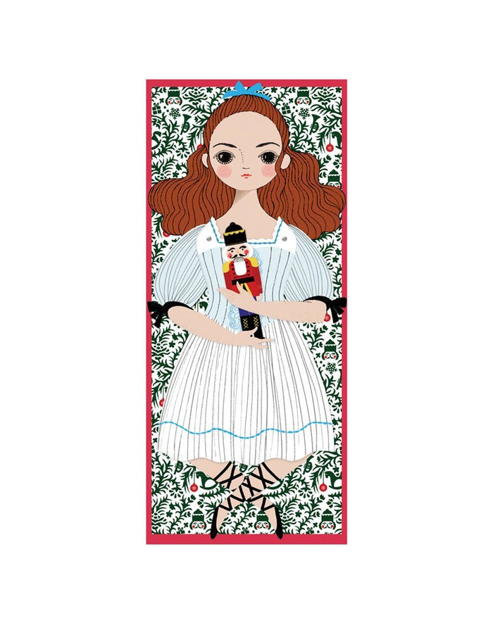 Little of unusual kind play clara mailable paper doll