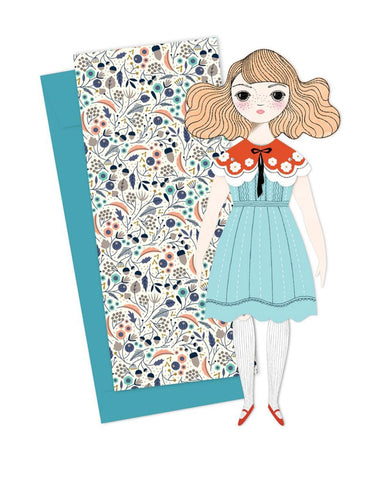 Little of unusual kind play magnolia mailable paper doll