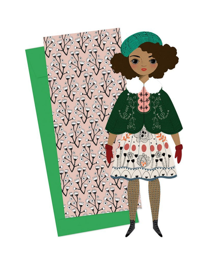 Little of unusual kind play noelle mailable paper doll