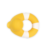 Little oli + carol baby accessories flo the floatie in yellow