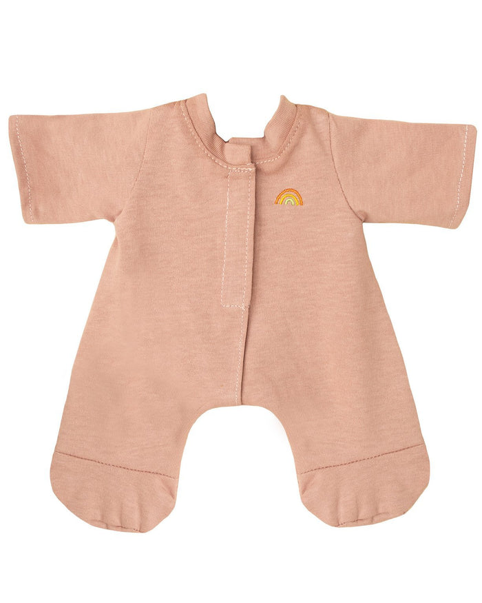Little olli ella usa play dinkum doll pjs in blush