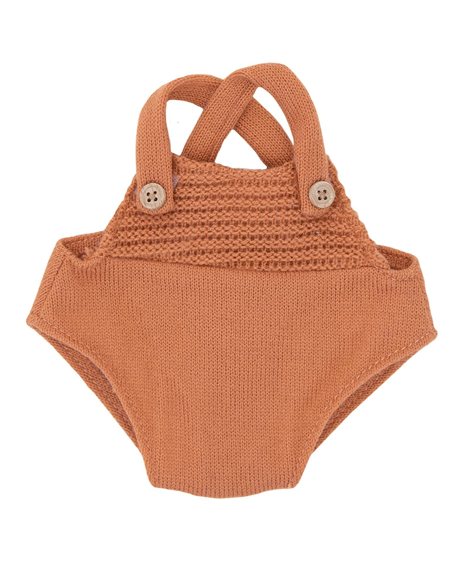 Little olli ella usa play dinkum doll romper in rust