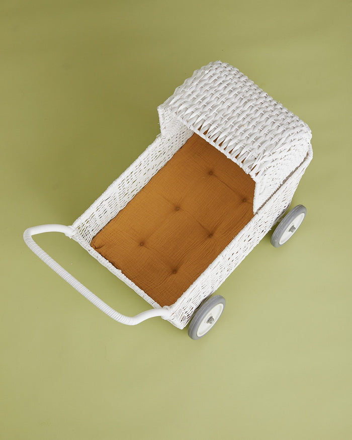 Little olli ella usa play strolley mattress in mustard