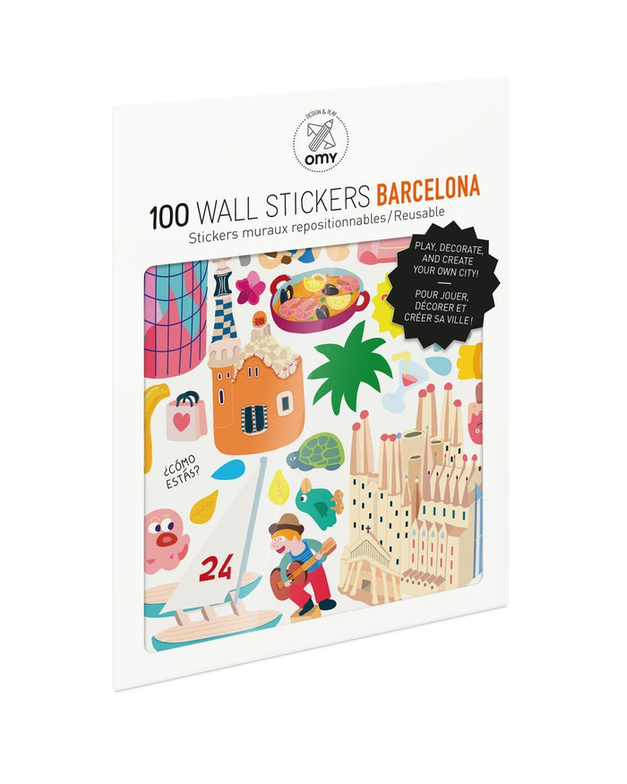 Little omy room Barcelona Stickers